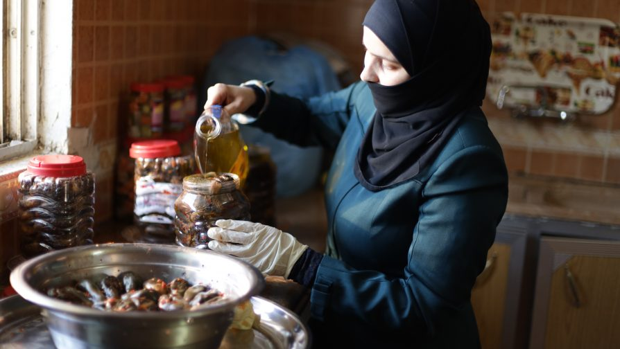 First Syrian Refugee-Owned Home-Based Business Registered in Jordan