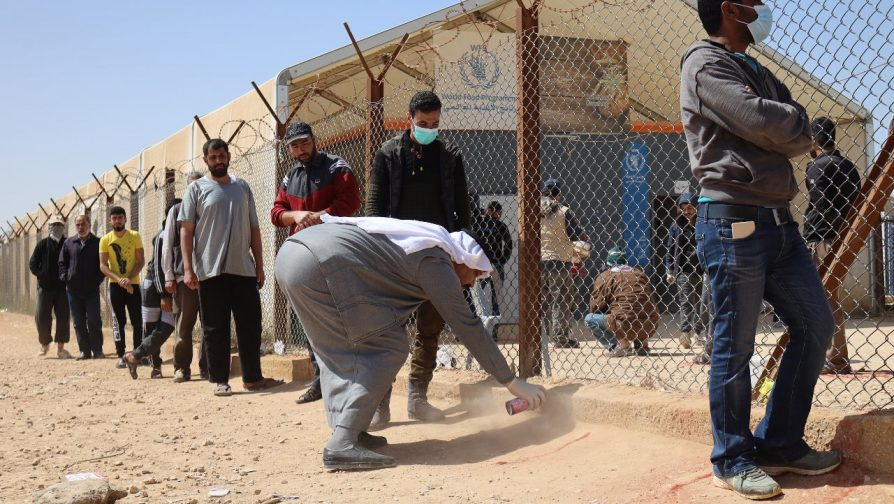 UNHCR appeals for $27 Million to help Refugees and Jordanians combat Coronavirus