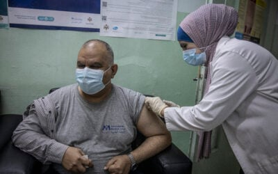 First refugee COVID-19 vaccinations commence in Jordan