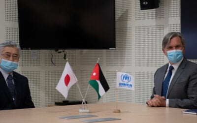 Japan increases support for refugee communities across Jordan
