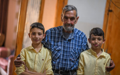 A family torn apart by war, relies on UNHCR this Ramadan
