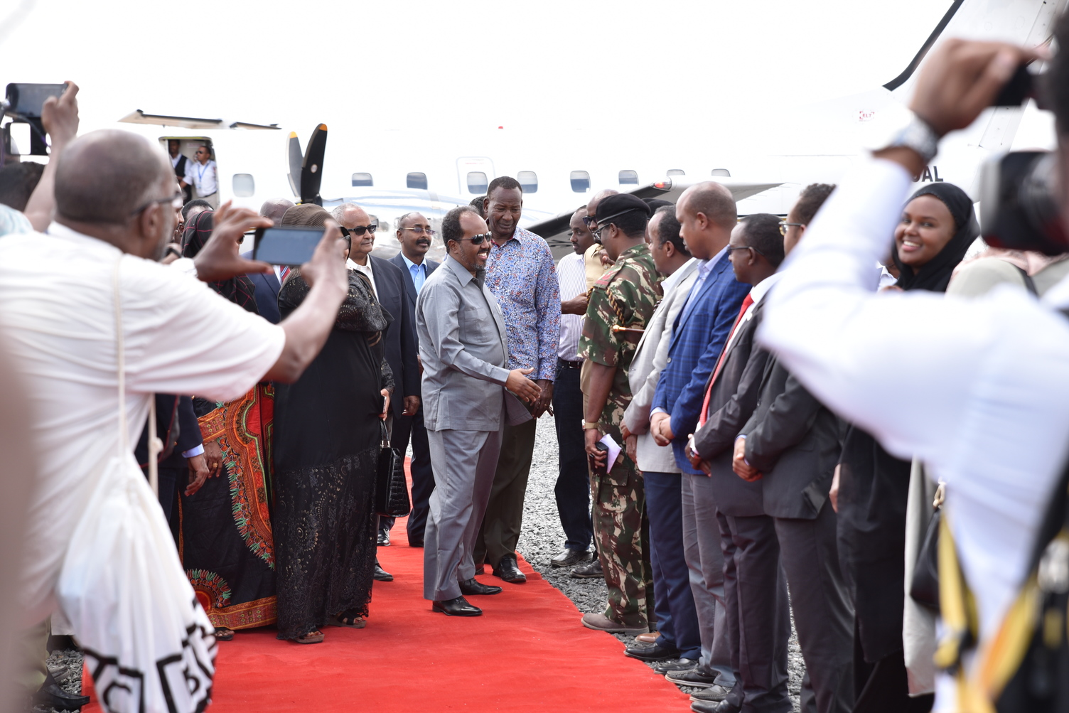 Somali President calls for any refugee returns from Dadaab to be carried out in an orderly manner