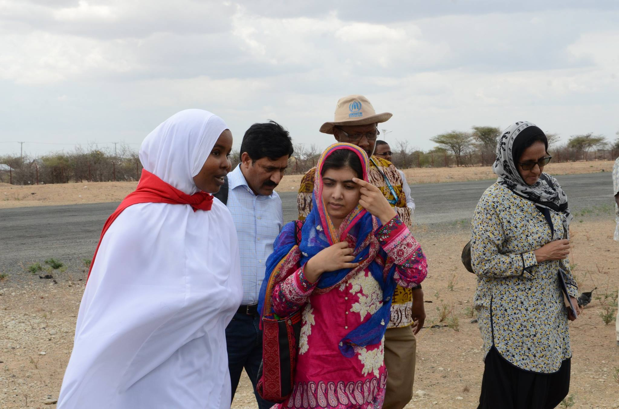 Malala Celebrates her 19th Birthday with Refugees in Dadaab