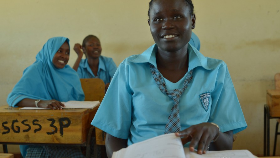 When 18-year-old South Sudan refugee Esther Nyakong, her mother and two sisters reached the northwest Kenya refugee camp at Kakuma in 2008 they had nothing. Esther studied hard, became head girl at the nearby Morneau Shepell boarding school for girls and in 2016 was hoping to beat 100-1 odds and go to university. Eventually she set her sights on becoming a neurosurgeon. ; The Kakuma refugee camp in northwest Kenya was established in 1992 to house thousands of refugees fleeing civil war in neighboring Sudan. By 2016 the population had swelled to nearly 190,000 and included civilians from South Sudan, Sudan, Burundi, Ethiopia, the Democratic Republic of Congo, Eritrea, Uganda and Rwanda. In a totally inhospitable region of nomadic tribes, swirling dust storms and daily temperatures topping 100 degrees fahrenheit, educating refugee and local children proved to be a major challenge. Seventy percent of primary school children aged 6-13 attended class in 2016 but of the nearly 24,000 refugee children aged 14-17, fewer than 750 went to class and of those only 303 were girls. Females were particularly vulnerable because of teenage pregnancy, early marriage and peer pressure to drop out.