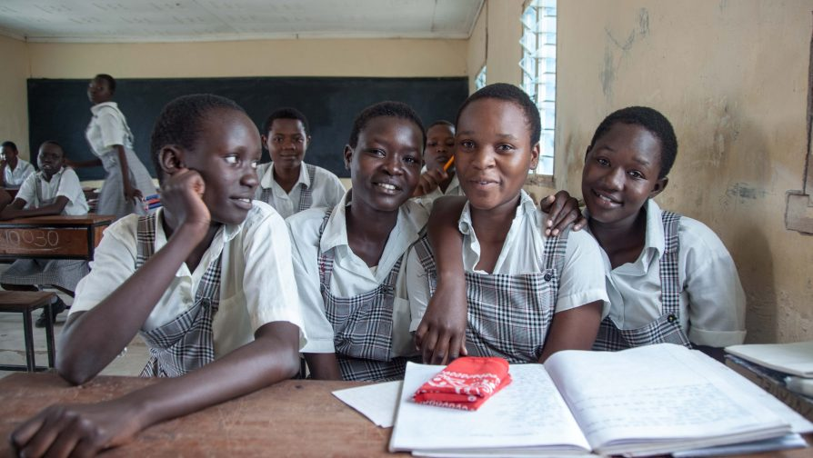 Learners in Kakuma Sit for their KCPE Examinations