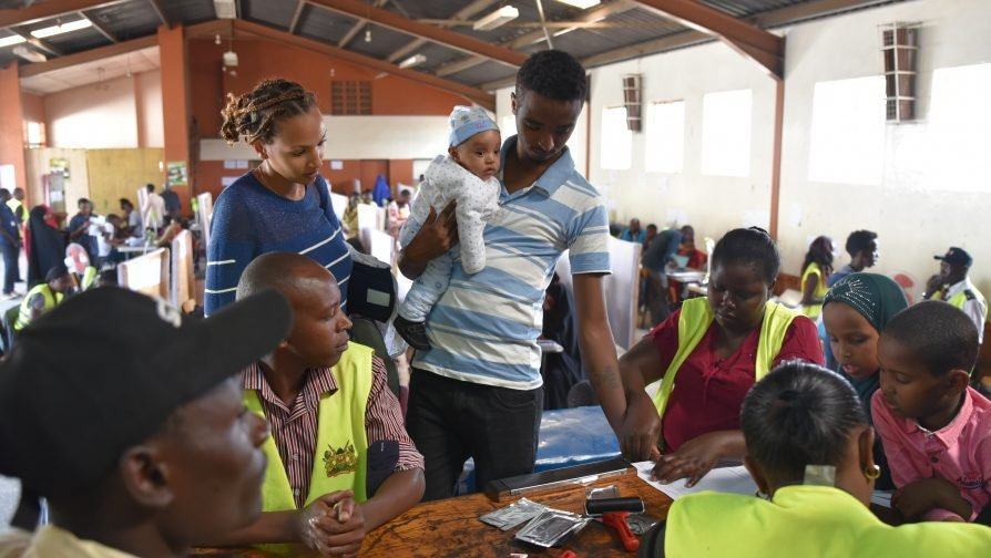 UNHCR Conducts Joint Verification of Refugees with the Government of Kenya