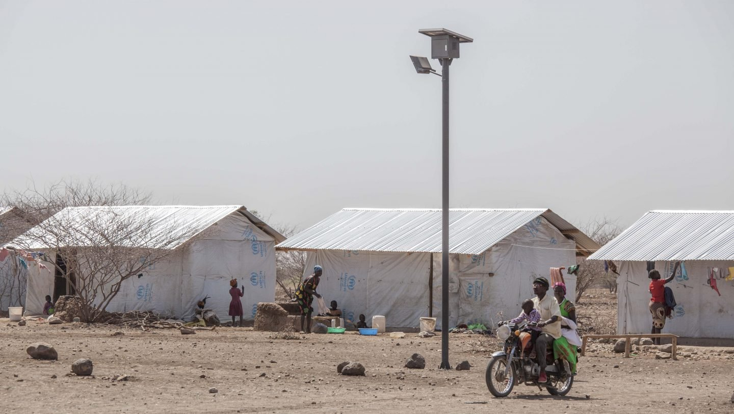 Kalobeyei lighting project under IKEA
