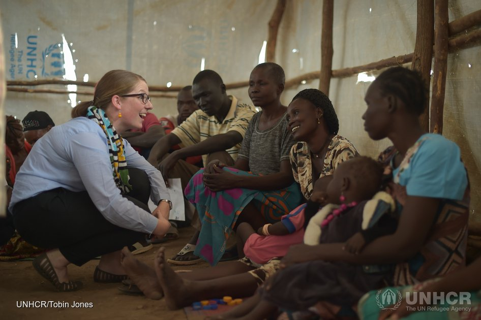 Kenya. Australian donors visiting Kakuma Refugee Camp and Kalobeyei Settlement