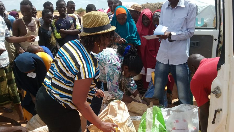 Church Charity Group Donates to Flood Victims
