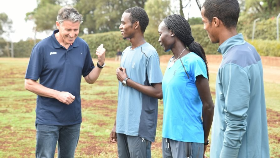 International Association of Athletics Federations (IAAF) President meets with refugee athletes in Kenya - UNHCR Kenya