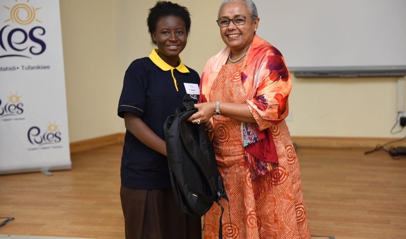 Refugee student in Kenya selected to join First Lady's mentorship