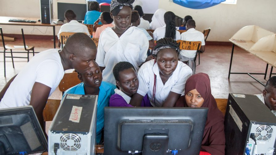 Refugee girls in Kakuma camp attend ICT Bootcamp