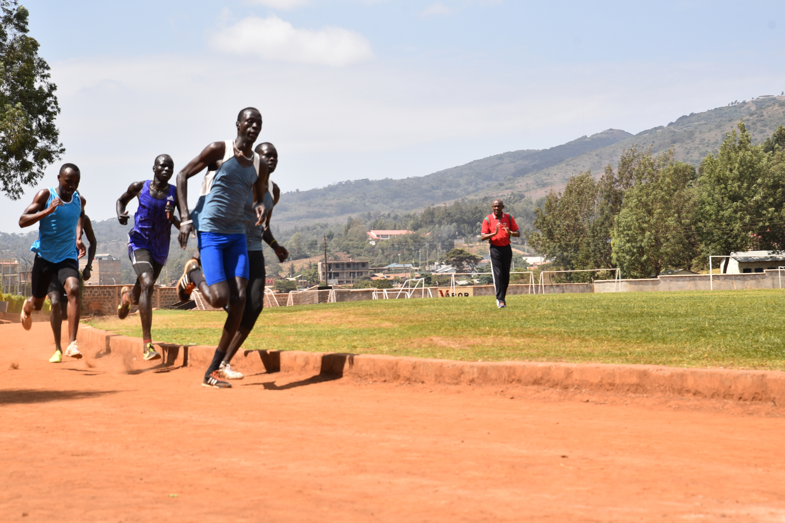 Kenya refugees head to the Asian Games 2017 in Turkmenistan