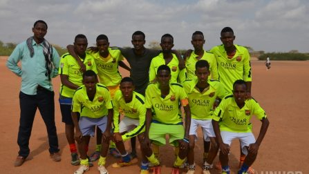 What a Game: Refugee teams Battle it Out in Dadaab