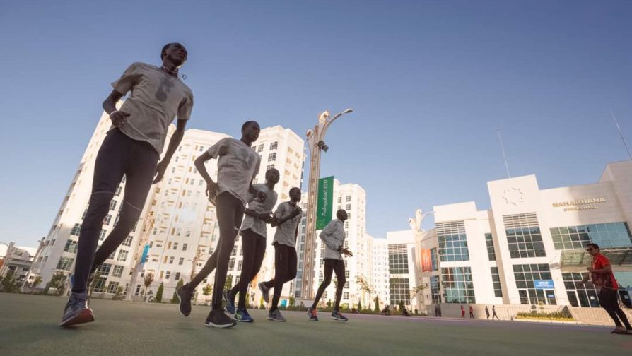 Refugee athletes prepare to compete at Asian Games in Turkmenistan, as Opening Ceremony takes place