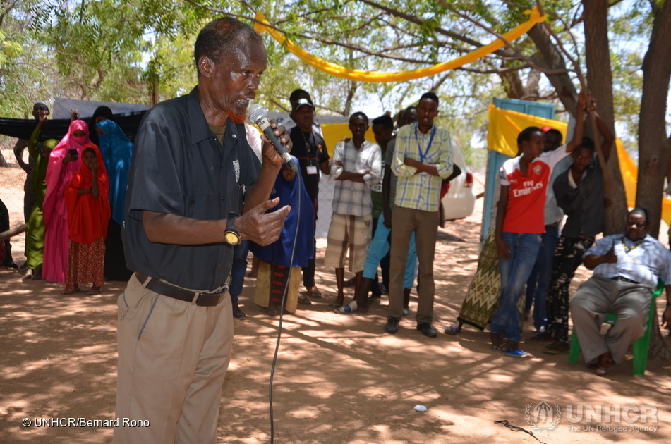 Kenya. 2017 World Health Mental Day celebrations in Dadaab