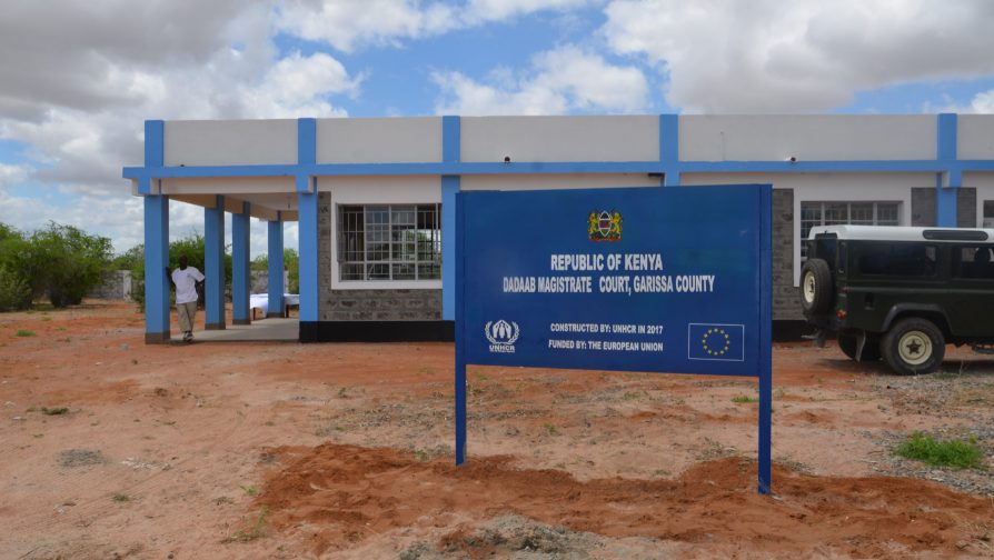 Refugees in Dadaab welcome opening of new courthouse