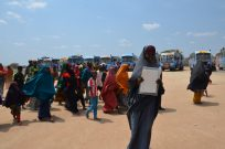 Somali refugee leaders from Dadaab camp on 'Go and See' visit to Mogadishu and Baidoa, Somalia