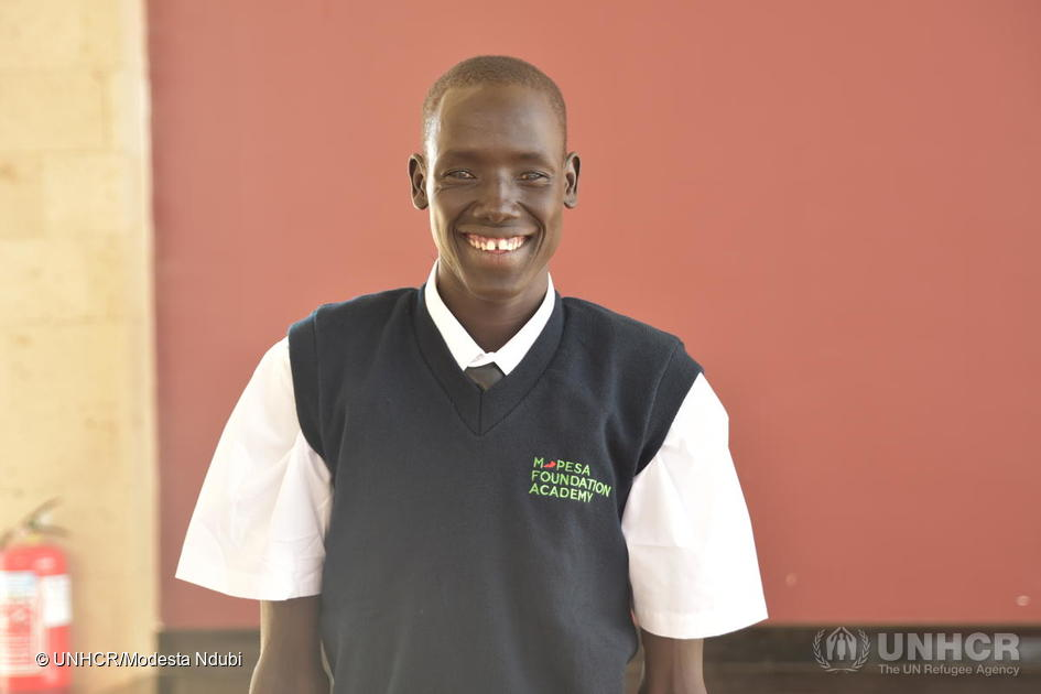 Kenya. Refugees join the Prestigious M-PESA Foundation Academy in Thika Town