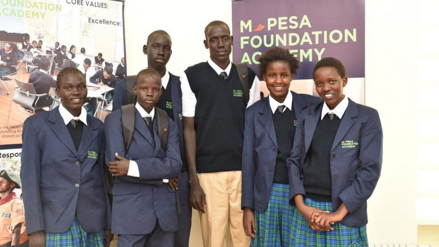 Refugees students start secondary school at top Kenya telecoms company's prestigious Academy