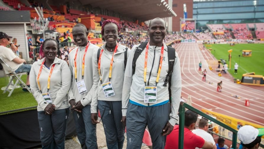 Refugee athletes from Kenya compete at world under-20s athletics championship in Finland