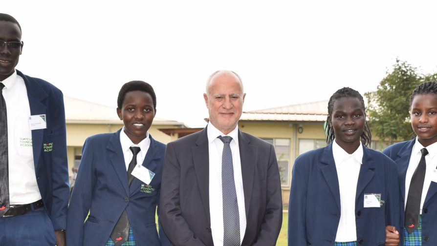 Refugee Students at M-Pesa Foundation Academy hone their skills in entrepreneurship, leadership and sports