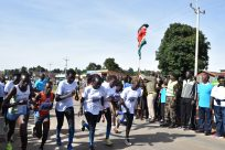 Refugee Athletes Join Race for Peace