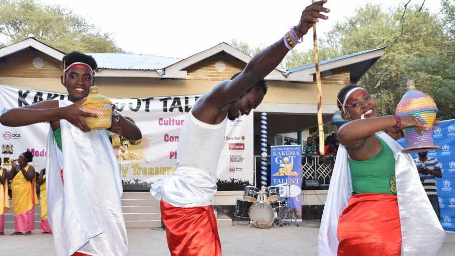 Talent show in Kenya's Kakuma refugee camp, lifts spirits and brings hope