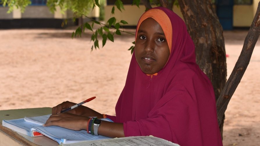 Refugee girl achieves highest score in Dadaab camps