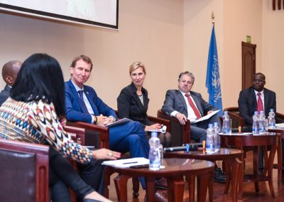 Panel discussion in Nairobi on KISEDP