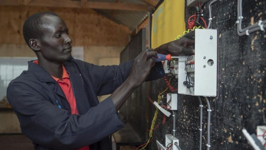 Advance vocational training empowers refugees and Kenyans in Kalobeyei Settlement