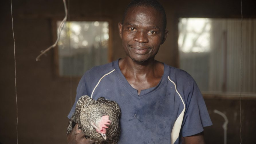 Burundi refugee in Kakuma makes a fortune from Chicken Farming