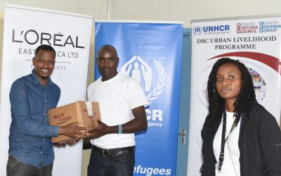 UNHCR and L'Oréal Partnership that will enable refugees get globally recognized certification in the Beauty Industry