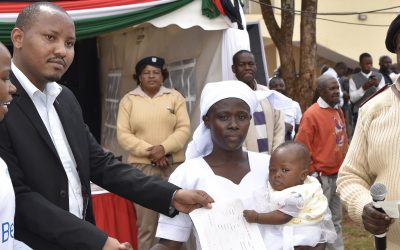 Birth certificates signal brighter future for stateless children in Kenya