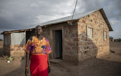 Cash for shelter programme empowers refugees and their hosts in Kenya