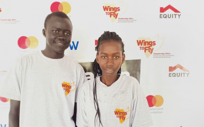 Education scholarships give 'wings' to two refugees dreaming of becoming doctors