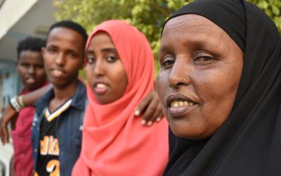 Ethiopian refugees in Kenya make an emotional return home