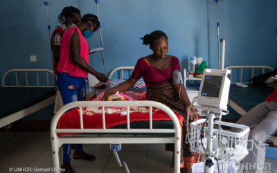 Expectant Refugee Mothers Find Solace in Continued Maternal Health Services During COVID-19
