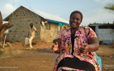 Home at last: For refugees in Kenya, moving from temporary shelter to newly built houses makes a world of difference