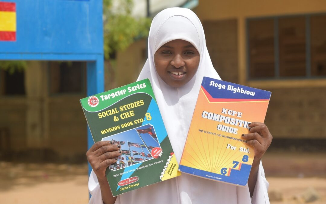 Edging closer to dreams of becoming a doctor – Fardowsa's story