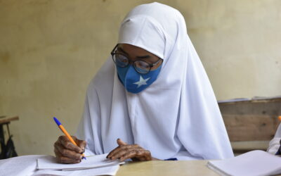 U.S. donates sanitary pads to support education of refugee girls in Dadaab