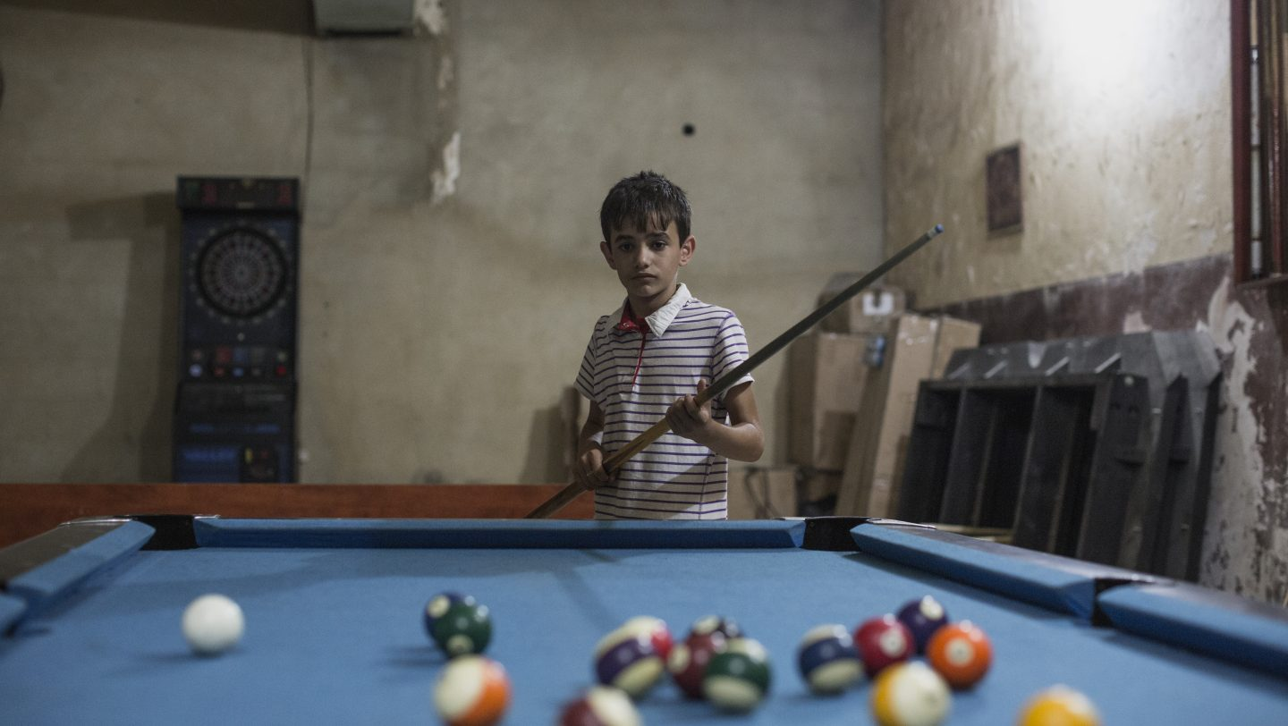 Lebanon. Syrian child actor prepares for resettlement in Norway