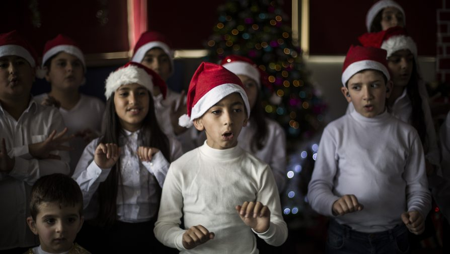 Joy to behold: Deaf children's choir warms hearts at Christmas