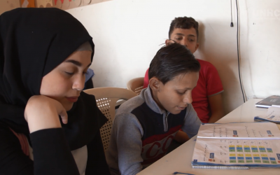 Beirut center gives Syrian street kids a chance at education