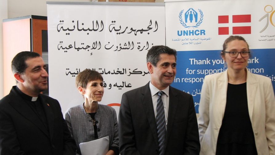 Denmark supports Community-Based Protection for Refugees and Vulnerable Lebanese in Lebanon
