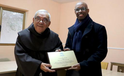 UNHCR commemorates the work of Fr. Mintoff and Peace Lab