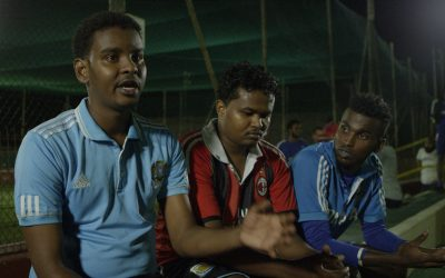 Video: Eager to Play Football
