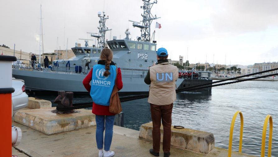 UNHCR welcomes Malta disembarkation of Sea Watch and Sea Eye passengers, calls for better, predictable approach