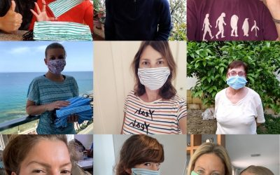 Sewing in Solidarity: MOAS volunteers make over 6000 masks for refugees in Malta