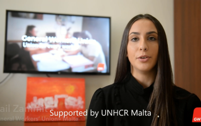 [Watch] GWU and UNHCR Malta – Rights of Workers in Malta